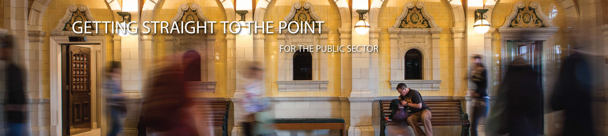 Getting straight to the point for the public sector
